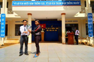Lễ tri ân của học sinh khối 9 (2014-2018)